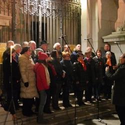 Singen vor dem Dom 2016